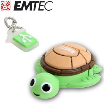 EMTEC EKMMD4GM316: Turtle Flash Drive 4GB M316  from Am-Dig