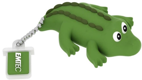EMTEC EKMMD4GM327: 4GB Crocodile Flash Drive from Am-Dig