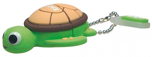 EMTEC EKMMD8GM316: Turtle Flash Drive 8GB  from Am-Dig