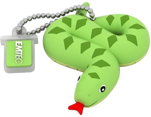 EMTEC EKMMD8GM330: 8GB Snake Flash Drive from Am-Dig