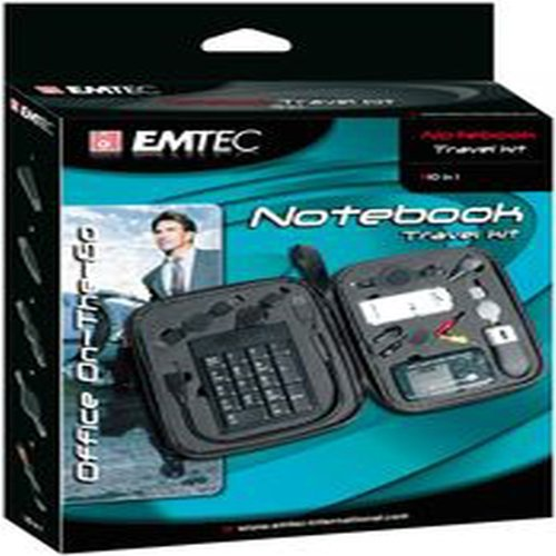EMTEC EKNBTKIT: Notebook Travel Kit 10-In-1 from Am-Dig