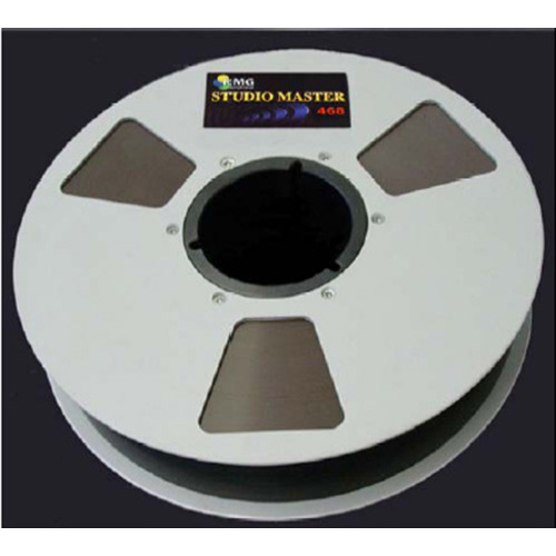 EMTEC Metal Reel Recording Tape- 2in 2500ft 10.5in from Am-Dig