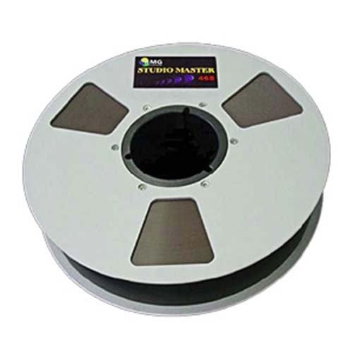 EMTEC Metal Reel Recording Tape-1/4in 2500ft 10.5 from Am-Dig