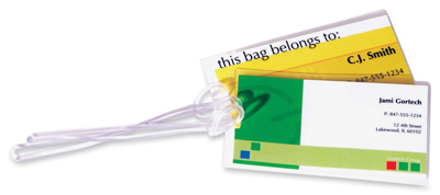 Fellowes 52003: Laminating Pouches, Luggage Tag from Am-Dig