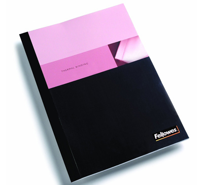 Fellowes 5256101: BLK Binding Covers, Thermal, 3/8 from Am-Dig