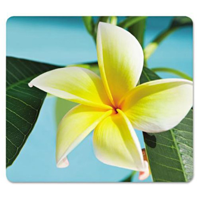 Fellowes 5913801: Yellow Flower Recycled Mousepad from Am-Dig