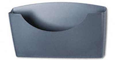 Fellowes 75275: Plastic Pocket, Legal, Dark Grey from Am-Dig