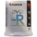 Fuji DVD-R, 15654612, 4.7GB, 16X, White Thermal Printab