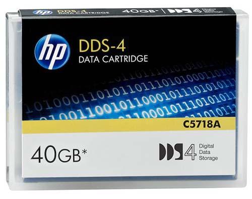 Hewlett Packard C5718A: DDS-4 Data Cartridge 40GB from Am-Dig
