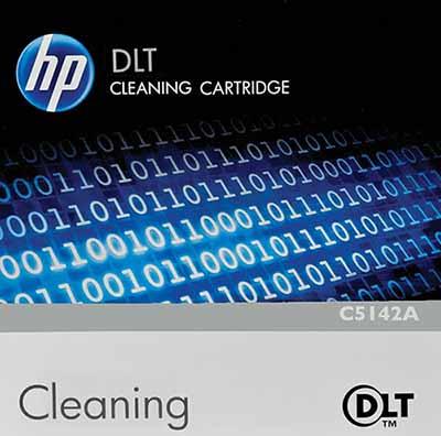 Hewlett Packard C5142A: DLT Cleaning Cartridge from Am-Dig
