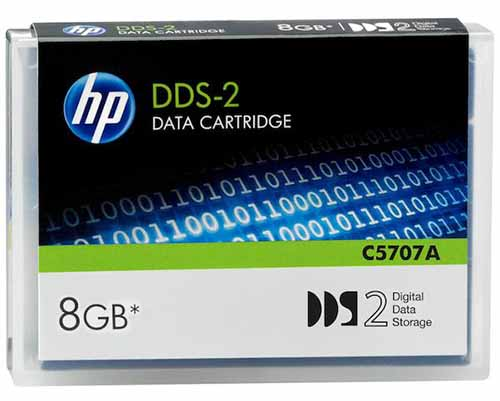 Hewlett Packard C5707A: DDS-2 Data Cartridge 4/8GB from Am-Dig