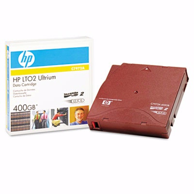 Hewlett Packard C7972A: 1/2 Inch Ultrium LTO 2Cart from Am-Dig