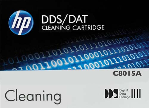 Hewlett Packard C8015A: DDS/DAT Cleaning Cartridge from Am-Dig