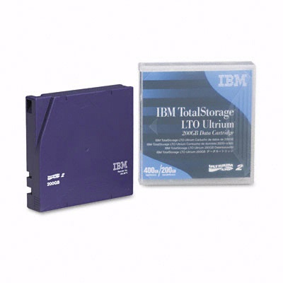 IBM 08L9870: 1/2'' Cartridge 1998ft 200GB from Am-Dig