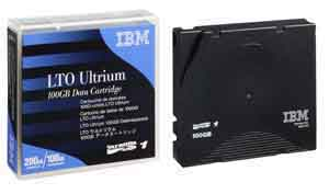 IBM 08L9120: Ultrium LTO-1 Cartridge 100GB/200GB from Am-Dig