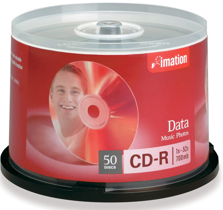 Imation 17516: CD-R 700MB 52x from Am-Dig