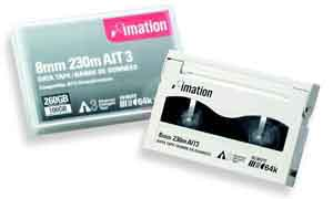 Imation 16369: AIT3 Data Cartridge AME, 100/260GB from Am-Dig