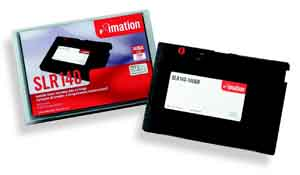 Imation SLR140, 70/140GB, 5.25 IN. Data Cartridge