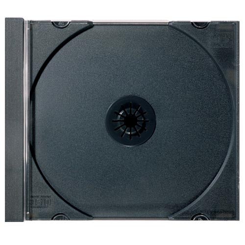 CD Tray Part- Black Single (Not a Complete Case) from Am-Dig