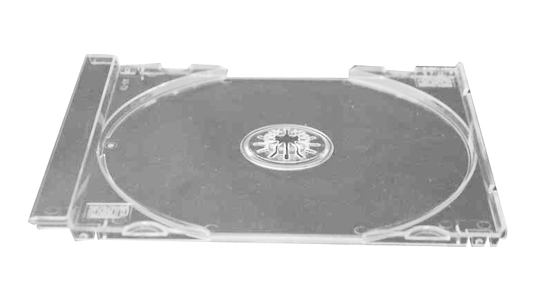 CD Tray Part- Clear Single (Not a Complete Case) from Am-Dig