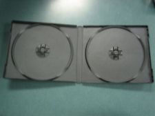 CD Jewel Case - Poly Double Black 0.375'' Spine from Am-Dig