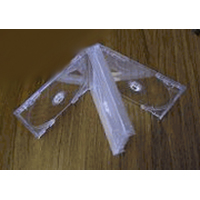 CD Jewel Case - Multi-4 Clear Chubby - Assembled from Am-Dig