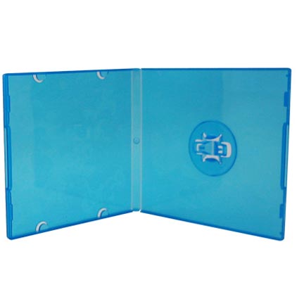 CD Case - Poly M-Lock Mini Blue - For 3 inch Discs from Am-Dig