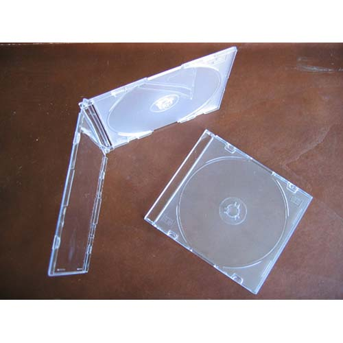 CD Jewel Case - Single Frosty Clear 5.2mm Spine from Am-Dig
