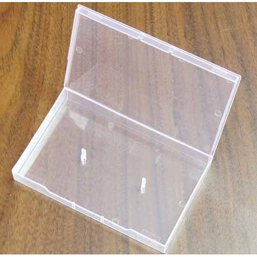 Linberg Clear Audio Cassette Soft Poly Box from Am-Dig