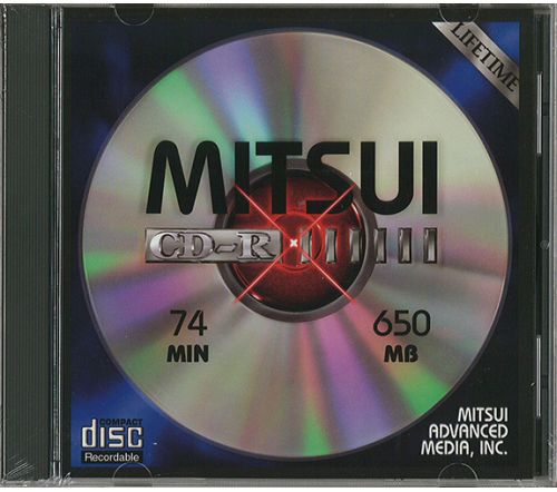 MAM-A 41378: CD-R 650MB Logo Top in Jewel Case from Am-Dig