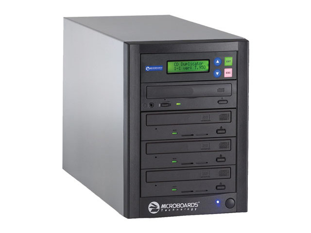 Microboards QD-DVD-H123 QuicDisc With Hard Drive from Am-Dig