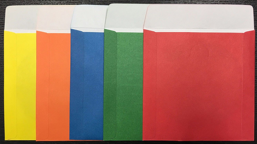 Memorex 100-Pack Color Paper Sleeves from Am-Dig