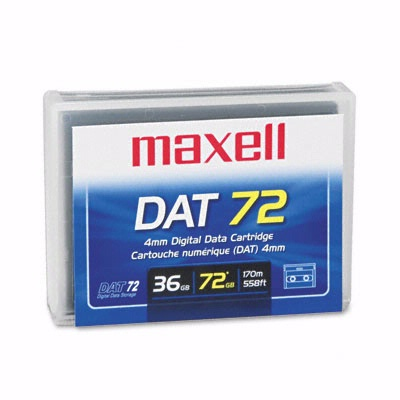 Maxell 200200: 1/8'' DAT 72 Cartridge 170m 36GB from Am-Dig