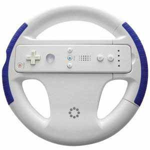 Memorex Blue Wii Racing Wheel  from Am-Dig