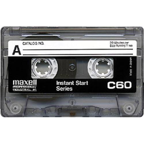 Maxell C60 IS Leaderless Cassette from Am-Dig