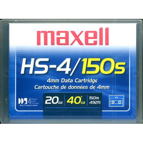 Maxell 4mm DDS4 150M 20/40gb from Am-Dig
