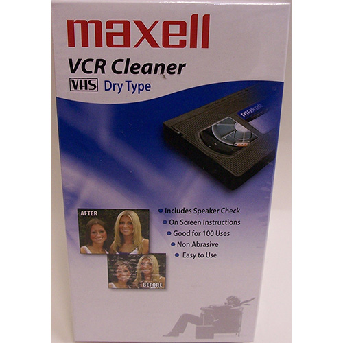 Maxell VHS Dry Cleaning Tape from Am-Dig