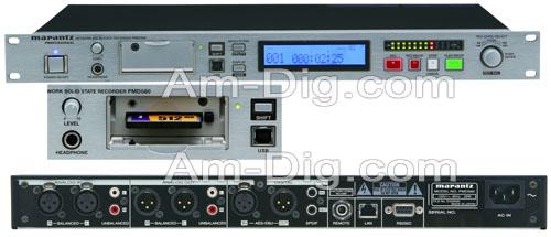 Marantz PMD580 Professional Installation Recorder from Am-Dig