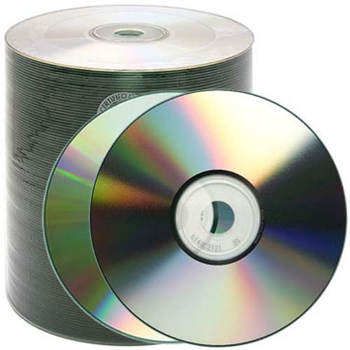 Prodisc / Spin-X 46112937: CD-R S/S Silver Shiny from Am-Dig