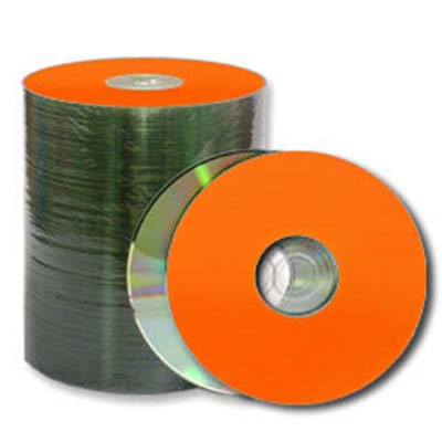 Prodisc / Spin-X 46113037: CD-R80 Orange/Diamond from Am-Dig