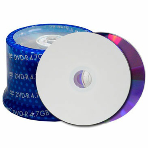 Prodisc / Spin-X 46152603: DVD+R 16x White Inkjet from Am-Dig