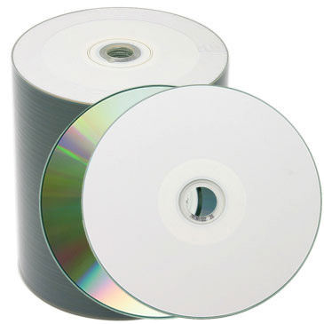 Premium CD-R Metalized To Hub Watershield IJ Print from Am-Dig