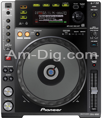 Pioneer CDJ-850-K: Performance Multi Player from Am-Dig
