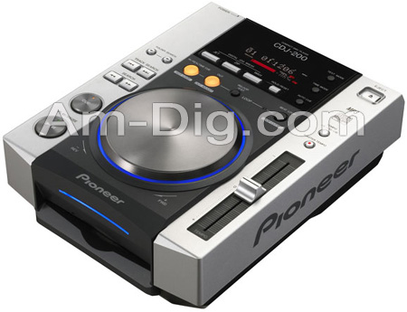 Pioneer CDJ-200: Professional CD Player from Am-Dig
