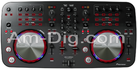 Pioneer DDJ-ERGO-V: DJ Controller from Am-Dig