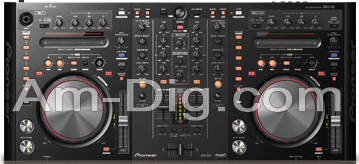 Pioneer DDJ-S1: DJ Controller from Am-Dig