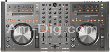 Pioneer DDJ-T1: DJ Controller from Am-Dig