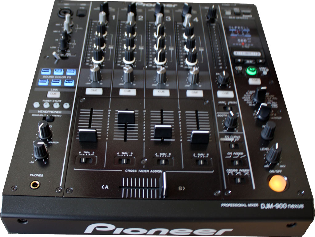 Pioneer DJM-900NEXUS: 4-Channel Professional Mixer from Am-Dig
