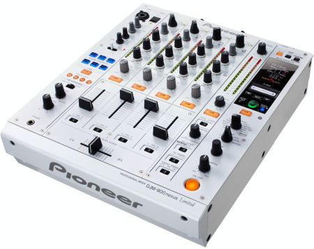 Pioneer DJM-900NEXUS: 4-Channel Pro Mixer - White from Am-Dig