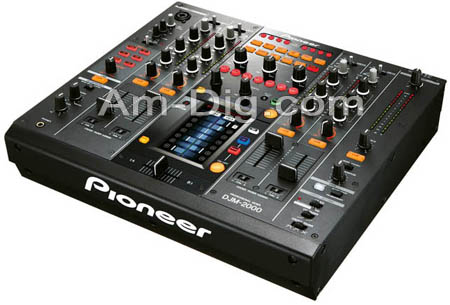 Pioneer DJM-2000: Professional DJ Mixer from Am-Dig